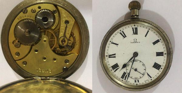 ساعت قدیمی اومگا موزه ای