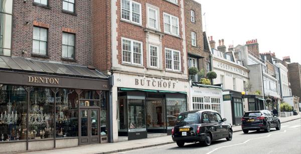 عتیقه فروشی و آنتیک فروشی در لندن