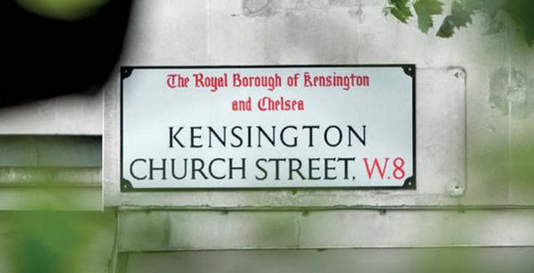 خیابان چرچ در لندن