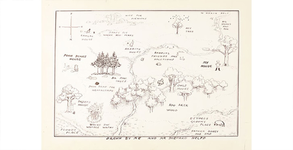 نقشه پو در حراجی