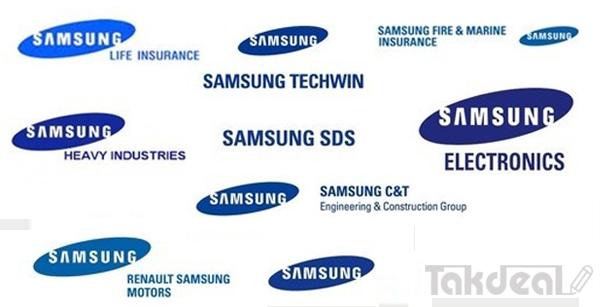 شرکت های سامسونگ