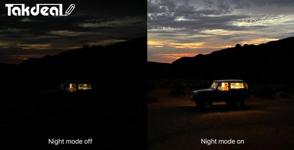 دید در شب ایفون 11