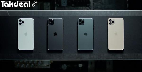 رنگ های اپل آیفون 11