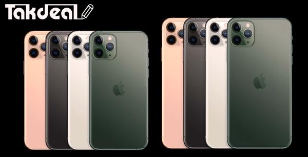 رنگ های آیفون 11 پرو و پرو مکس اپل