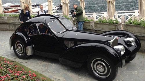 ماشین بوگانی 1938 به مالکیت طراح مد رالف لورن