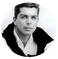 رالف لورن در جوانی