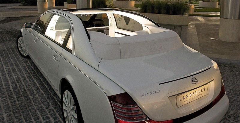 اتومبیل مایباخ طراح شنل