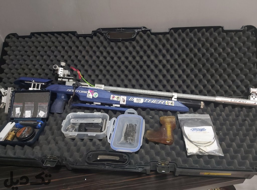 تفنگ مسابقاتی walther