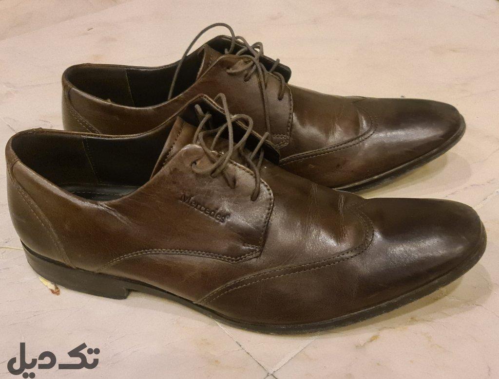 کفش چرم مردانه سایز ۴۳