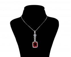 گردنبند نقره زنانه در فروشگاه اینترنتی