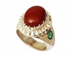انگشتر نقره زیبا در فروشگاه اینترنتی