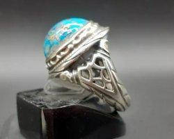 انگشتر فیروزه دست ساز در حراجی و فروشگاه اینترنتی