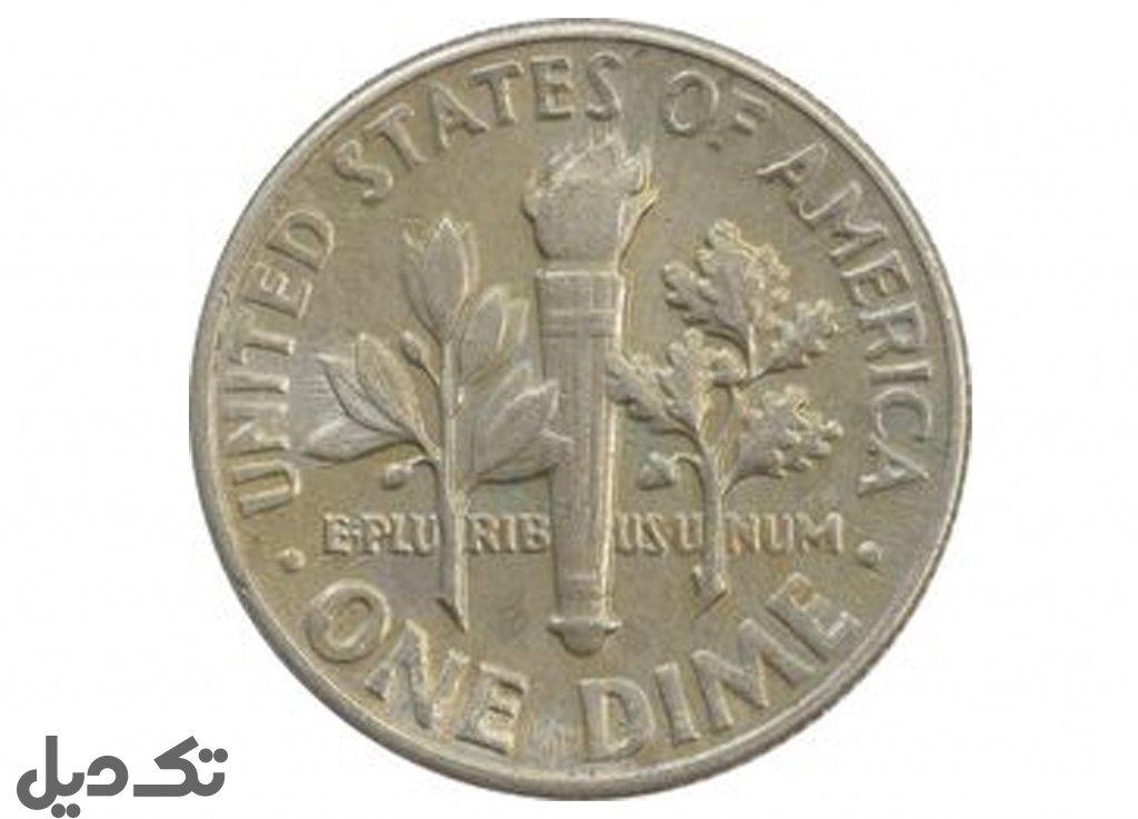 سکه  روزولت آمریکا