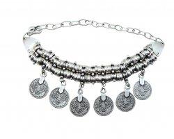 دستبند زنانه سکه در فروشگاه اینترنتی