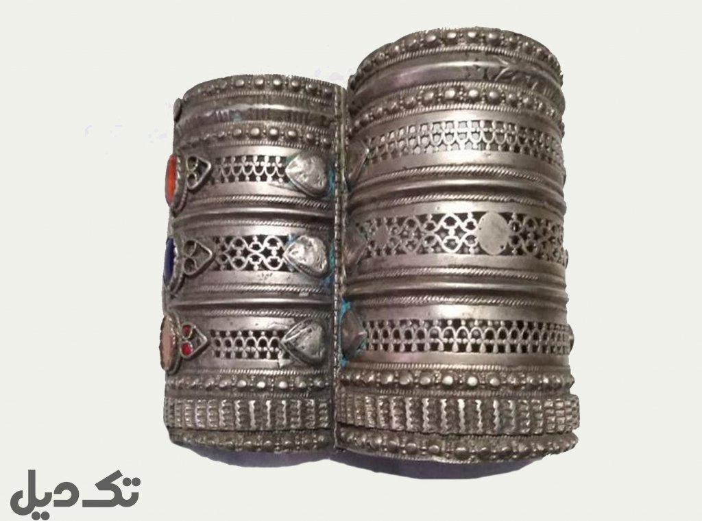 دستبند نقره آنتیک