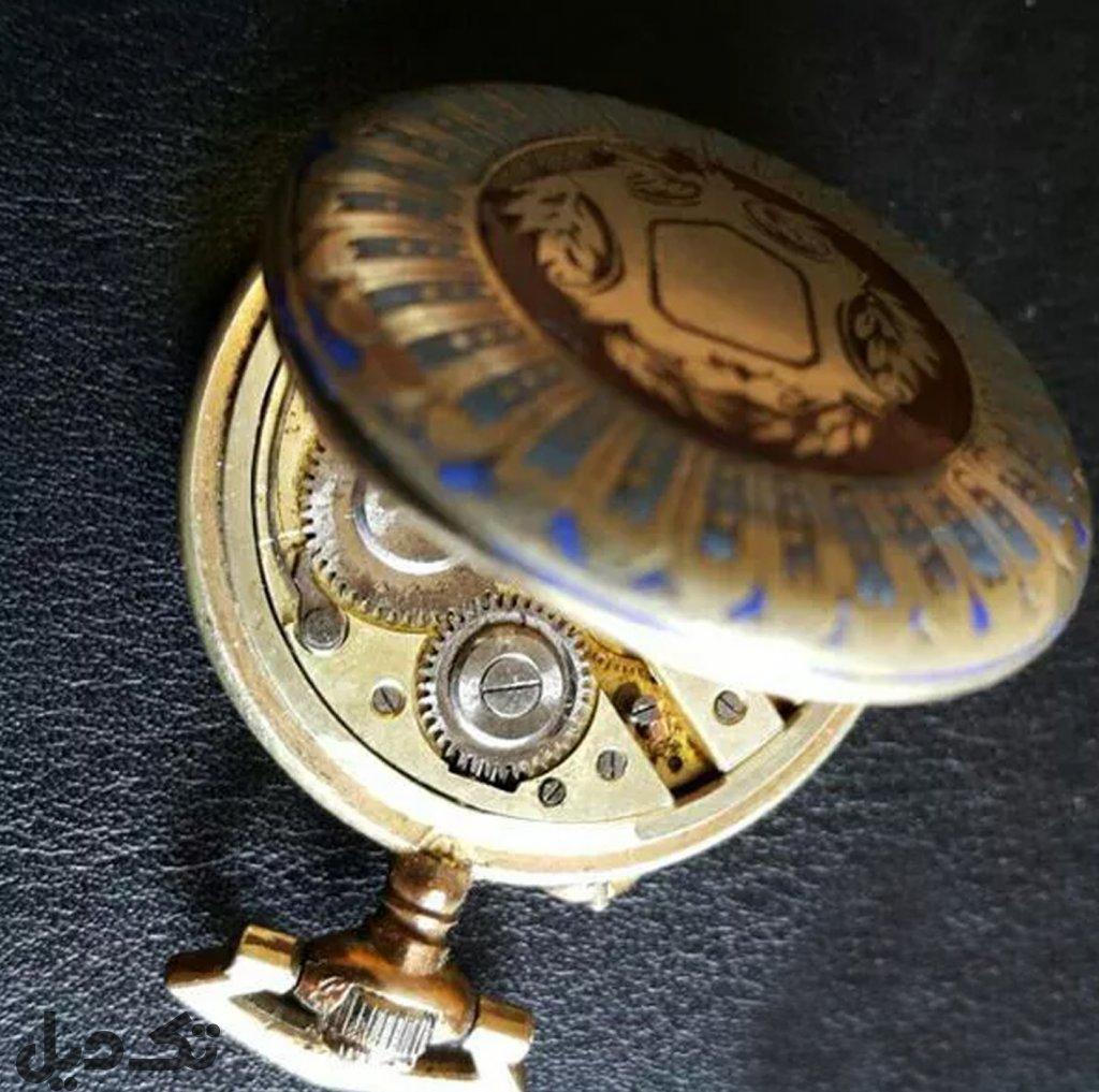 ساعت جیبی قدیمی