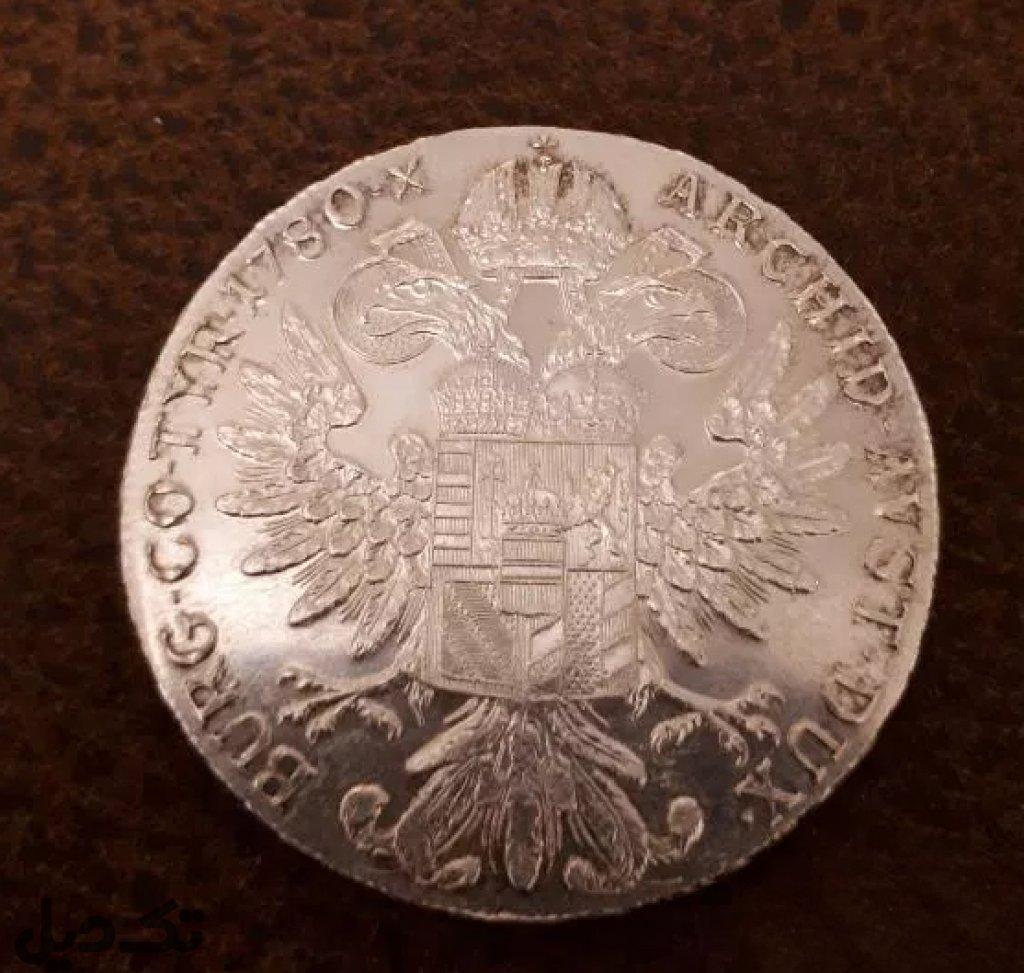 سکه نقره  ملکه اتریش