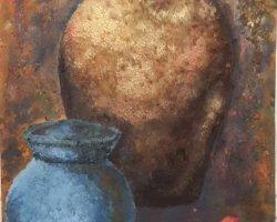 اکریلیک - کوزه گلی- 40x60 در فروشگاه اینترنتی