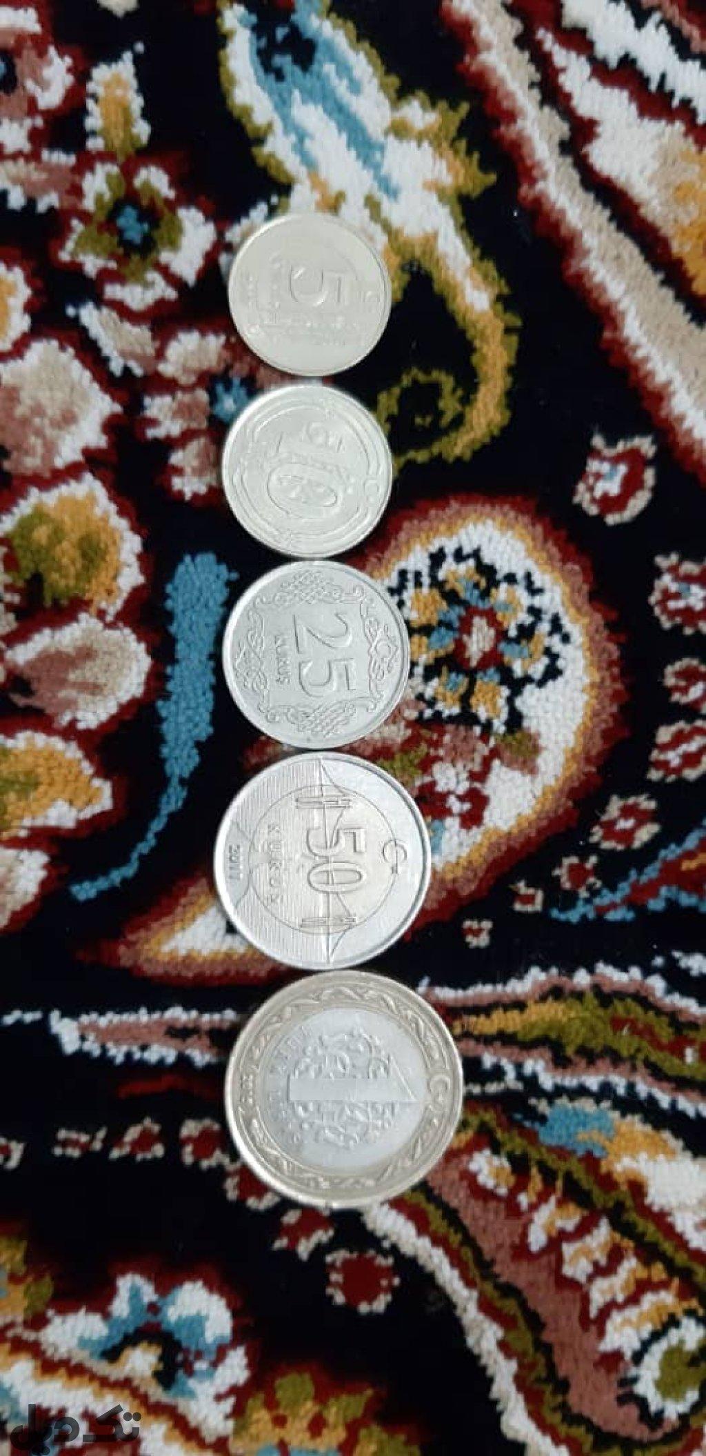 ست سکه ترکیه