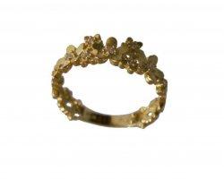 انگشتر طلا شکوفه در فروشگاه اینترنتی