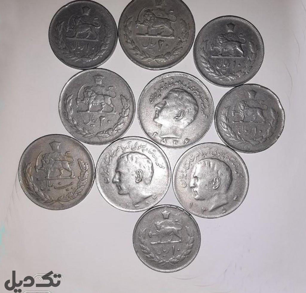 سکه زمان رضا شاه