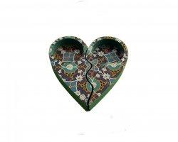 جاشمعی چوبی قلبی در فروشگاه اینترنتی