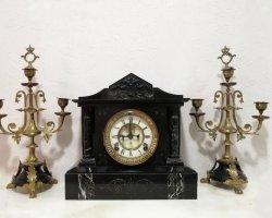 ساعت شمعدان آنتیک در فروشگاه اینترنتی