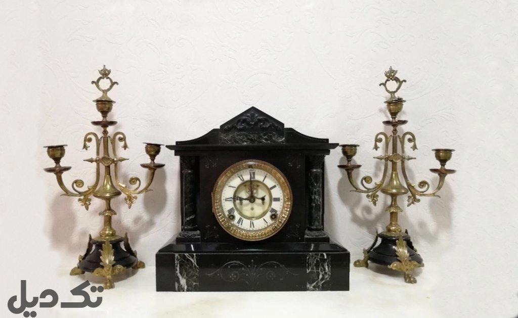 ساعت شمعدان آنتیک