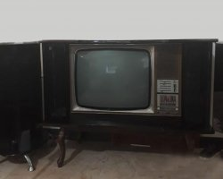 تلویزیون مبله آنتیک در فروشگاه اینترنتی