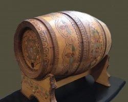 بشکه چوبی آنتیک در فروشگاه اینترنتی