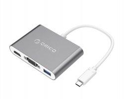 مبدل USB-C به USB/VGA/HDMI در فروشگاه اینترنتی