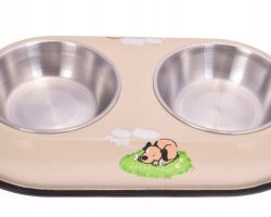 ظرف غذای دوقلوی حیوانات در فروشگاه اینترنتی