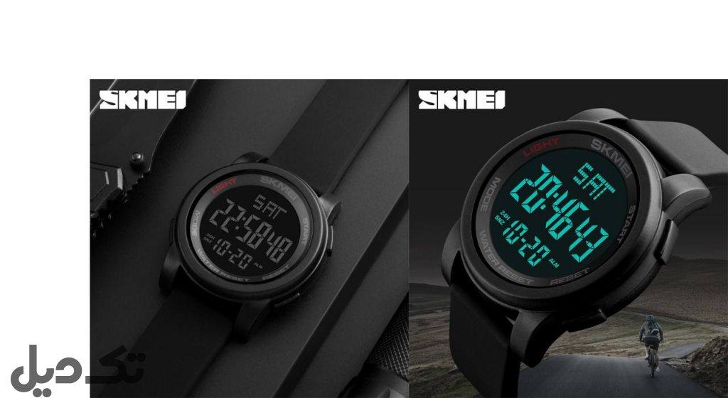 ساعت مچی دیجیتالی اسکمی