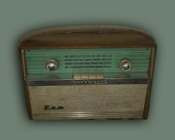 رادیو قدیمی کلکسیونی در فروشگاه اینترنتی