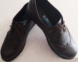 کفش چرم زنانه در فروشگاه اینترنتی