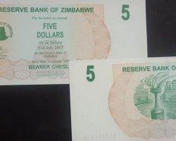 اسکناس زیمبابوه در فروشگاه اینترنتی