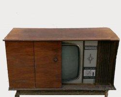 تلوزیون مبله آنتیک در فروشگاه اینترنتی