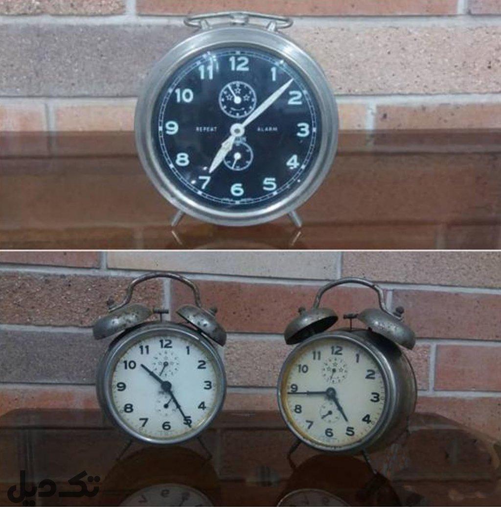 ساعت رومیزی قدیمی