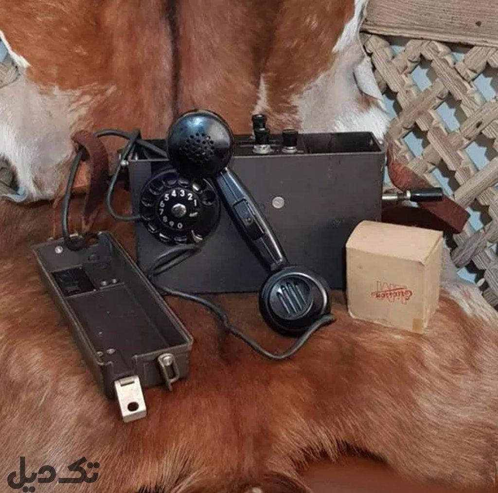 دوتا تلفن قدیمی اریکسون