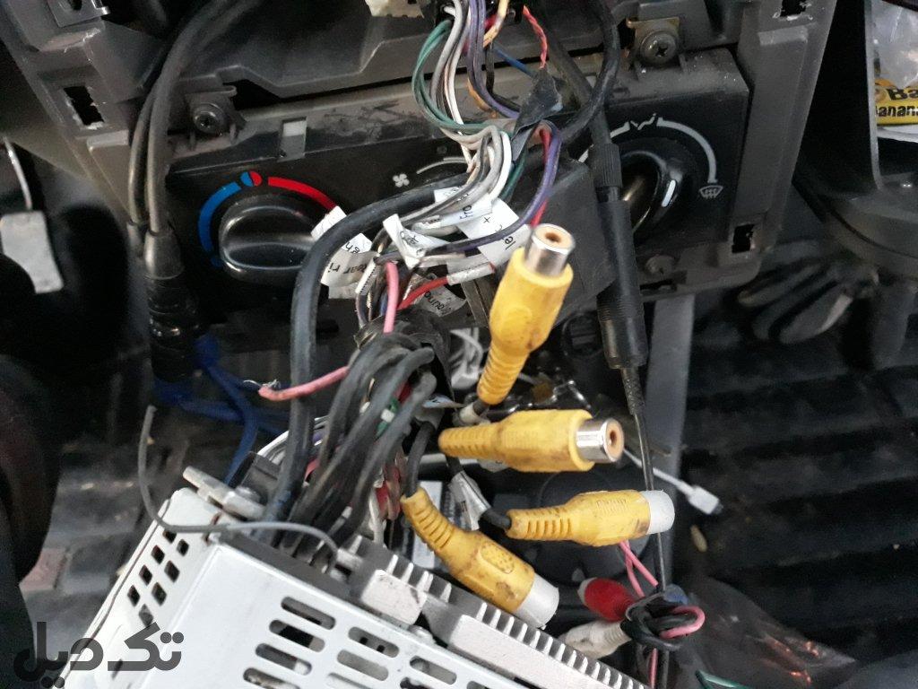 پخش تصویری ماشین