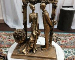 مجسمه عروس و داماد در فروشگاه اینترنتی