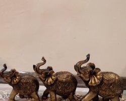 مجسمه سه فیل در فروشگاه اینترنتی