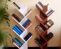 کتابخانه درختی در فروشگاه اینترنتی