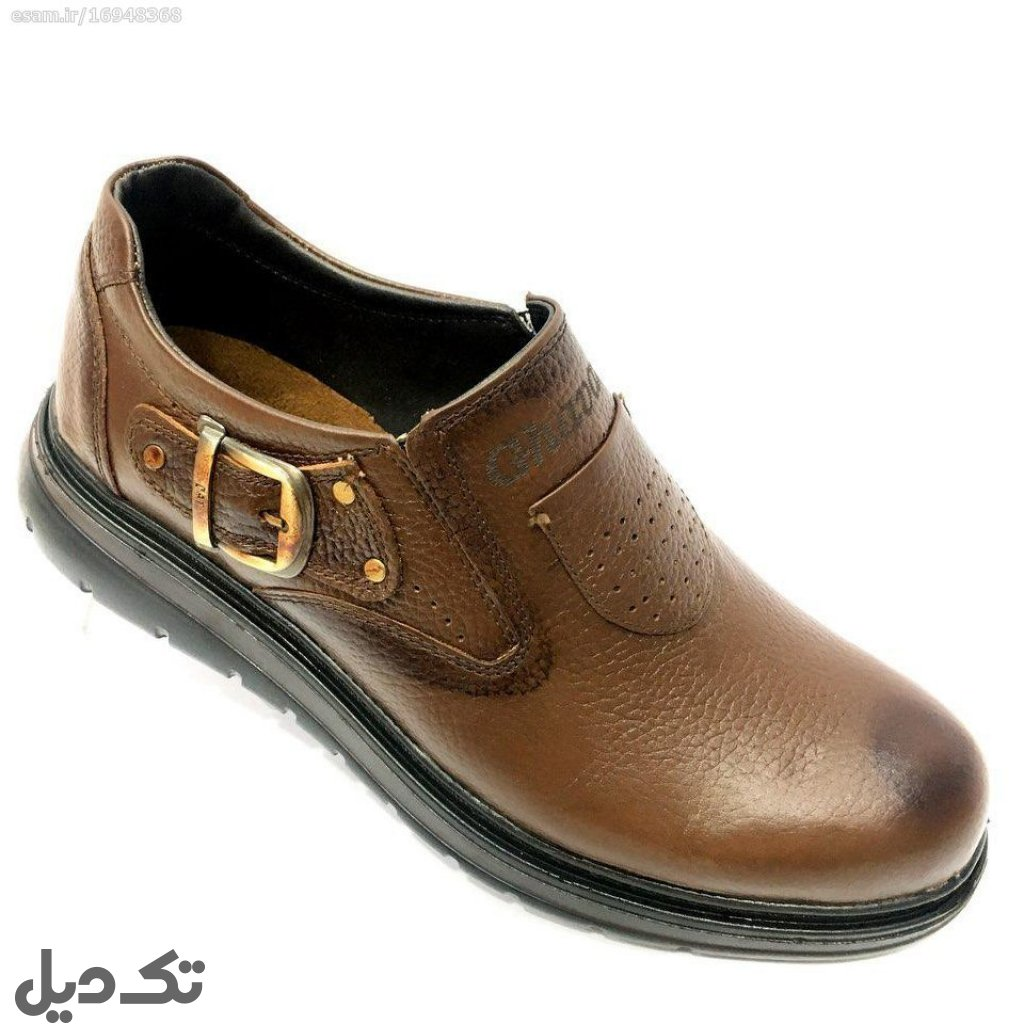 کفش چرمی مجلسی قوامی