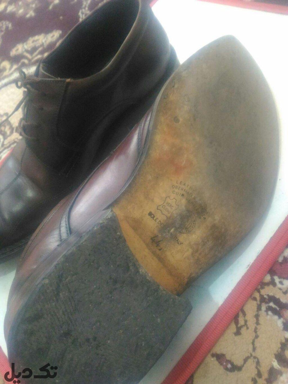 مزایده کفش چرم مردانه