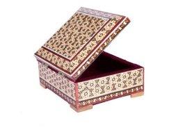 جعبه  جواهری خاتم کاری در حراجی و فروشگاه اینترنتی