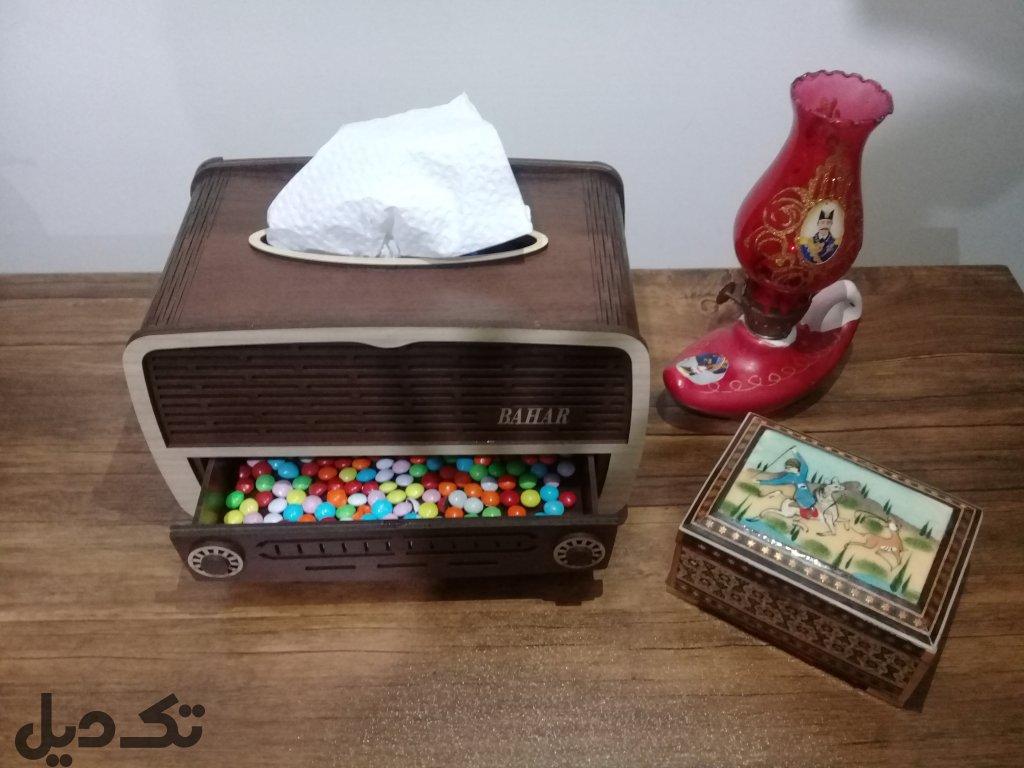 جادستمال کاغذی رادیویی