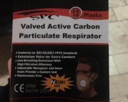 ماسک بهداشتی تنفسی SPC N95 در حراجی و فروشگاه اینترنتی