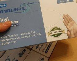 دستکش ونیل در حراجی و فروشگاه اینترنتی