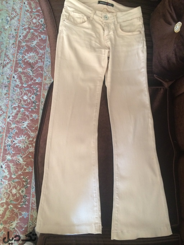 شلوار جین دم پا سایز ٣٦